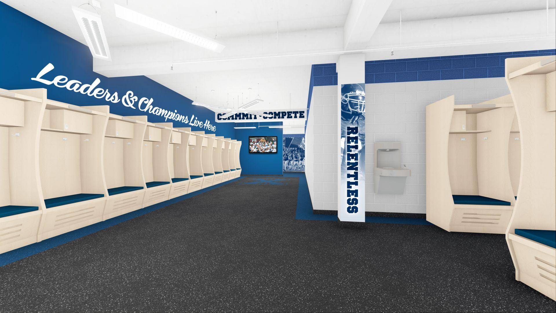 Saputo Centre Locker Room
