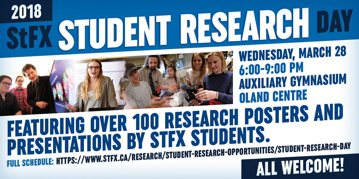 StFX Student Research Day 2018