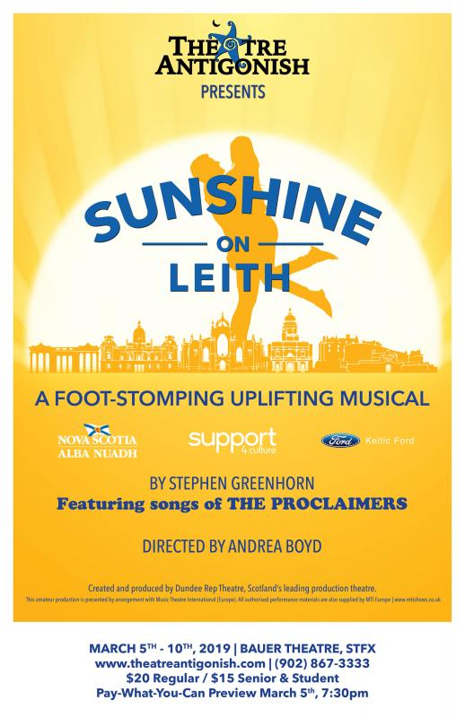 Sunshine on Leith at Bauer Theatre STFX