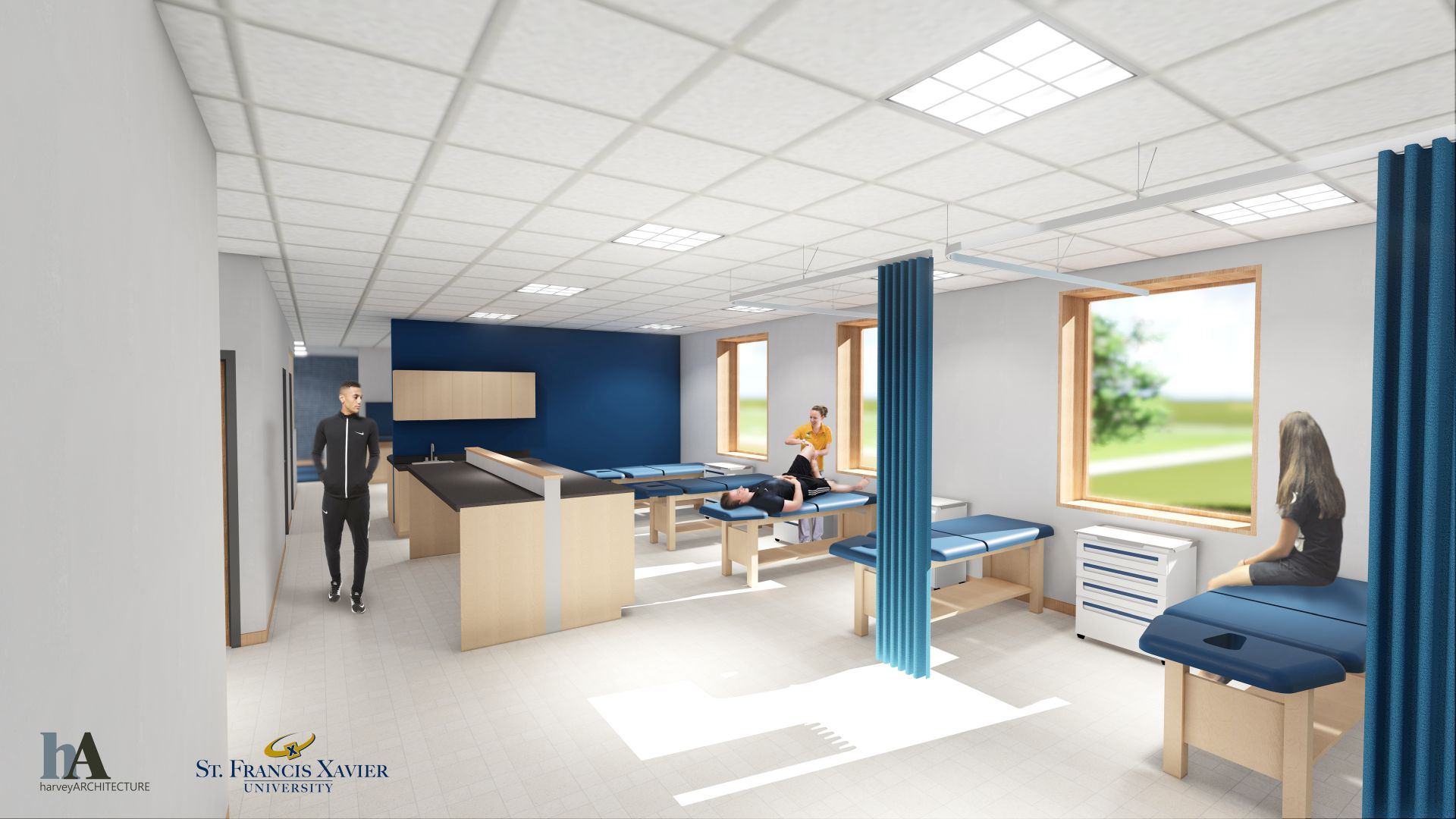 Saputo Centre Physical Therapy Room