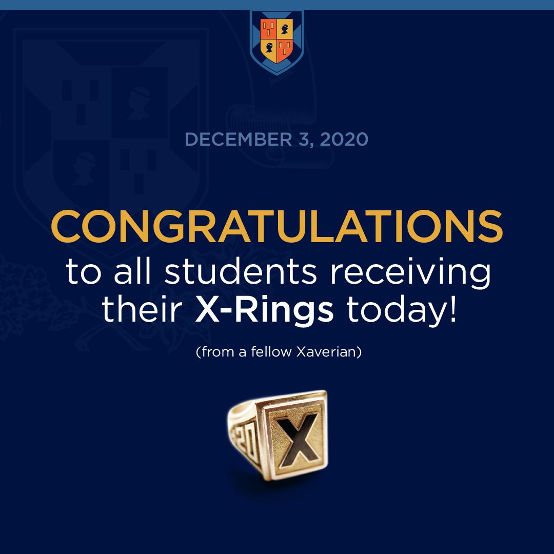 X-Ring Insta-fellow xaverian