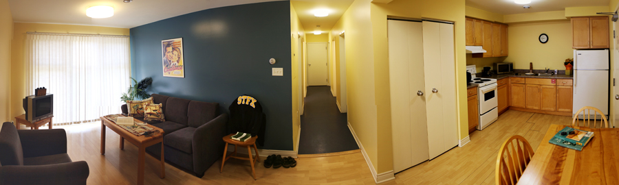 Apartment suite in residence at StFX