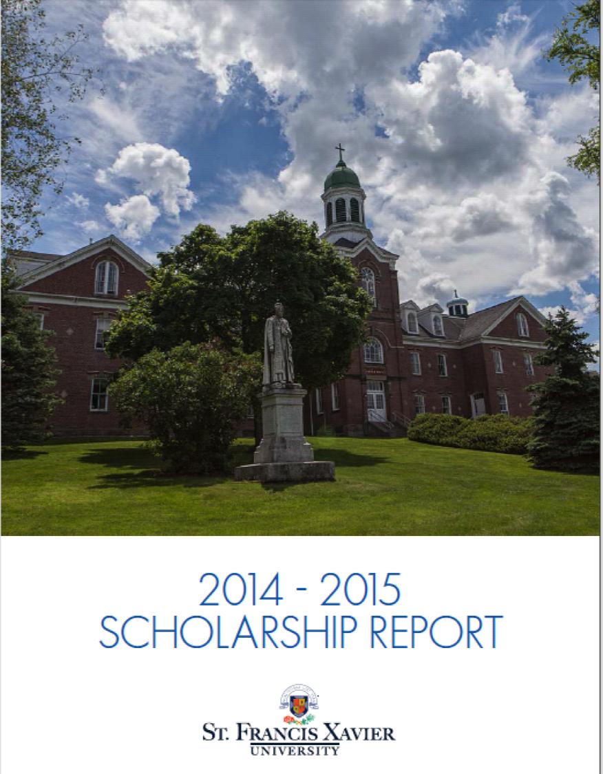 2014-2015 Scholarship Report